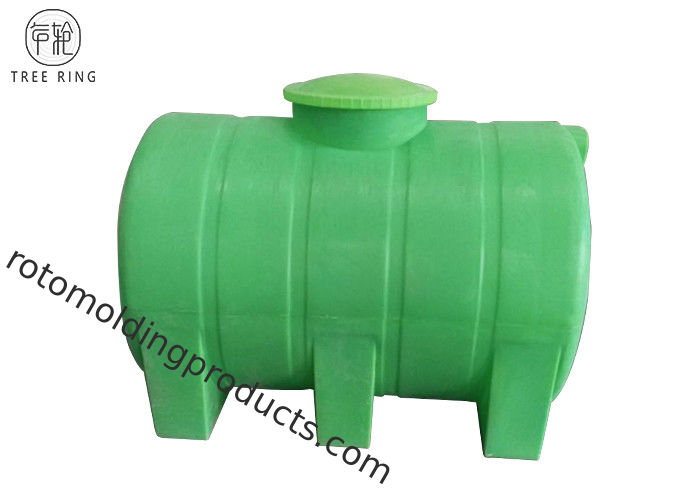 Horizontal Plastic Water Storage Containers With Legs Polyethylene Reservoir 500Litre