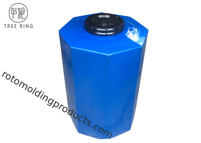 Rotational Molding Irrigation Plastic Water Storage Tank Blue / White Water Proof