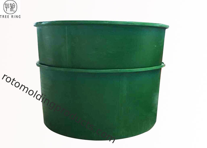 Roll Molding 1000gallon Large Aquaponics Fish Tank For Nursing Tilapia M3500L